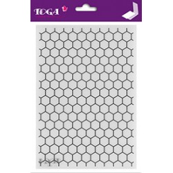 Embossing Folder Toga - Nid D'abeille