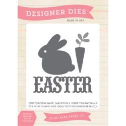 Fustelle Echo Park - Easter Bunny Die