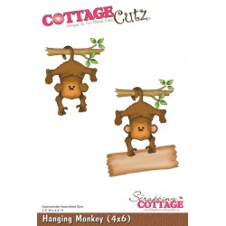 Fustella Cottage Cutz - Hanging Monkey