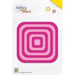 Fustella Nellie Snellen - Straight Dotted Square