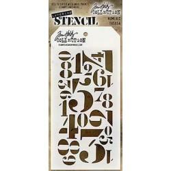 Stencil Tim Holtz - Numeric