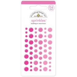 Sprinkles Enamel Dots Doodlebug Design - Bubblegum