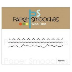 Fustella Paper Smooches - Waves