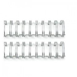 We R Memory keepers - 2 Spirali metalliche argento 3/4 inch