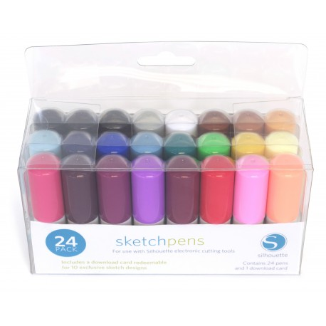 Kit 24 penne Silhouette