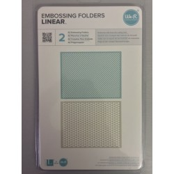 Embossing Folder We r Memory - Linear