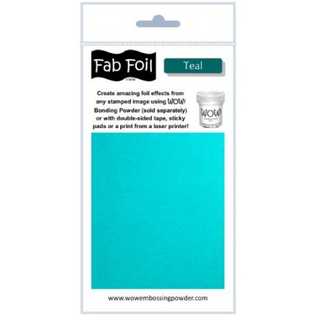 Wow! Fab Foil - Teal