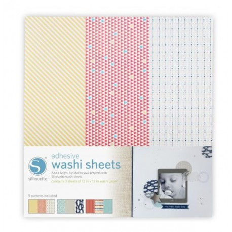 Carta washi adesiva Silhouette