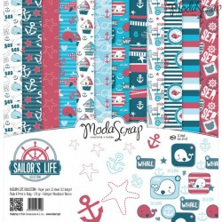 Kit carte ModaScrap - Sailor's LIfe