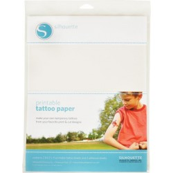 Fogli A4 per tatuaggi Silhouette