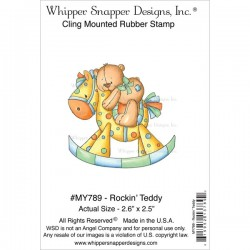 Timbro cling Whipper Snapper Designs - rockin'teddy