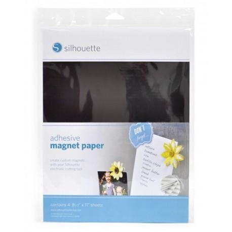 Foglio magnetico adesivo Silhouette
