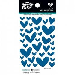 Enamel Hearts Illustrated Faith - Mrs. Blueberry