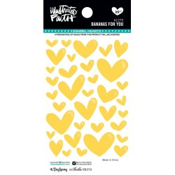 Enamel Hearts Illustrated Faith - Bananas For You