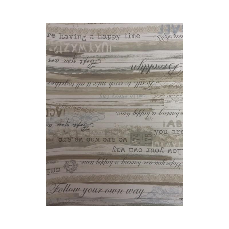 Carta da parati scritte vintage di corso in corso for Scritte vintage