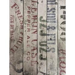 Carta da parati - Woodbox Scritte