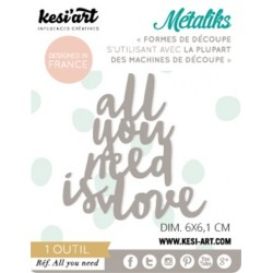Fustella Kesi'Art - Métaliks mini All You Need