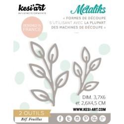 Fustella Kesi'Art - Métaliks mini Feuillus