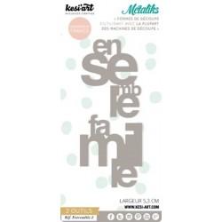 Fustella Kesi'Art - Métaliks Entremeles 2