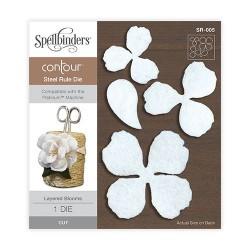 Fustella Spellbinders - Layered Blooms