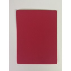 Gomma crepla adesiva - Creative Hands - Rosso - 15x11.25 cm