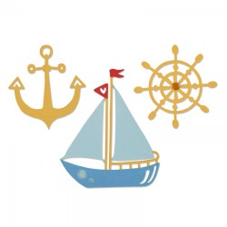 Fustella Sizzix Thinlits - Shipmates