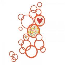Fustella Sizzix Thinlits - Bright Bubbles