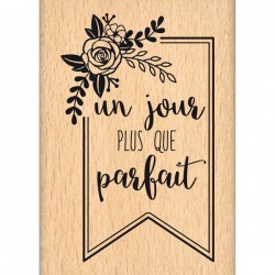 Timbro legno Florileges - Plus Que Parfait