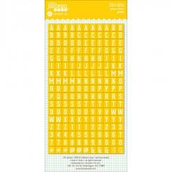 Alfabeto Stickers Jillibean Soup - Yellow Lemon