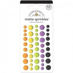 Sprinkles Enamel Dots Doodlebug Design - Matte - Halloween