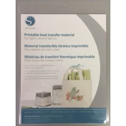 Printable Heat Transfer Material - Inkjet - Light