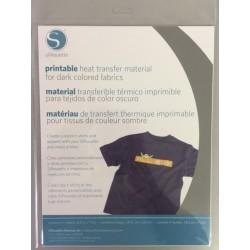 Printable Heat Transfer Material - Inkjet - Dark