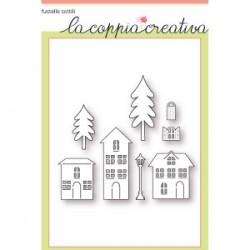 Fustella La Coppia Creativa - Villaggio Felice
