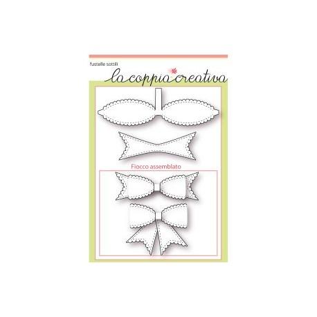 Fustella La Coppia Creativa - Fiocco Decorativo