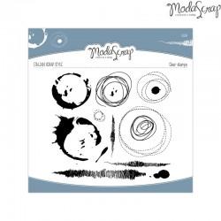 Timbro Clear ModaScrap Decor - MIX
