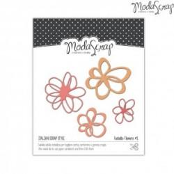 Fustella ModaScrap - Flowers 1