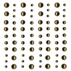 Perle Artemio 80pz 2 misure - Oro