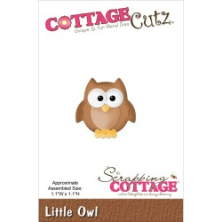 Fustella Cottage Cutz - Little Owl