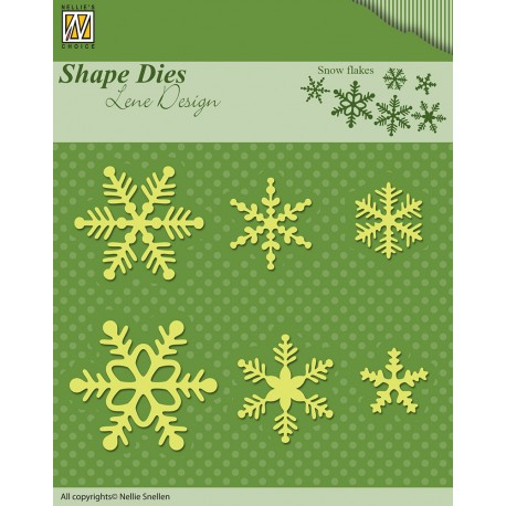 Fustella Nellie Snellen - Snow Flakes