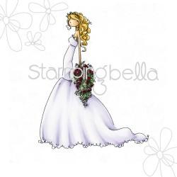 Timbro Cling StampingBella - Uptown Girl Brigitte The Bride