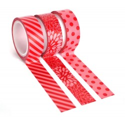 Washi Tape - Queen&co - Red