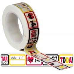 Washi Tape - Queen & Co - Magic Tickets