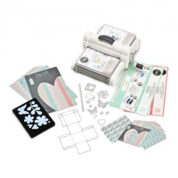 Sizzix Big Shot Plus Starter Kit (White & Gray)