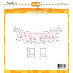 Fustella Impronte D'Autore - Auguri Banner