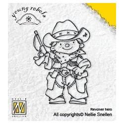 Timbro Clear Nellie Snellen - Revolver Hero