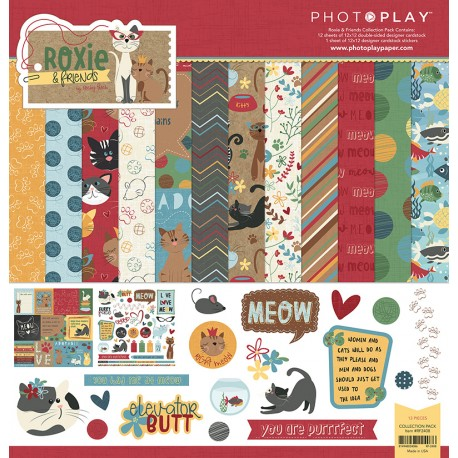 Kit carte PhotoPlay - Roxie & Friends