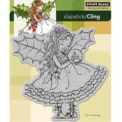 Timbri cling Penny Black - Fairy Holly
