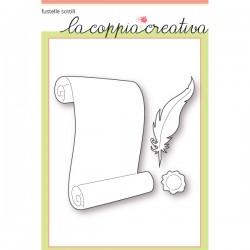 Fustella La Coppia Creativa - Foglio di Pergamena