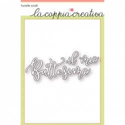 Fustella La Coppia Creativa - Battesimo