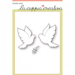 Fustella La Coppia Creativa - Colombe